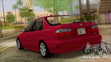 Honda Civic 2000 para GTA San Andreas left