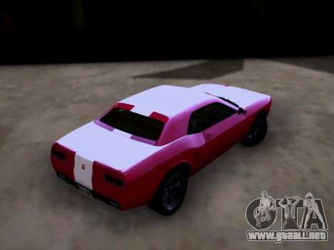 Bravado Gauntlet GTA 5 para GTA San Andreas left