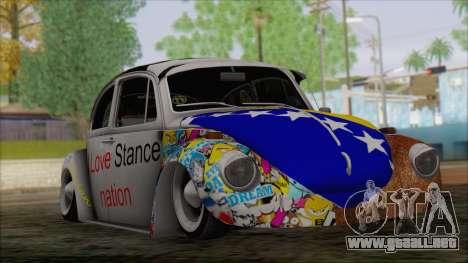 Volkswagen Beetle Bosnia Stance Nation para GTA San Andreas