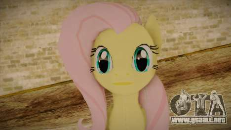 Fluttershy from My Little Pony para GTA San Andreas tercera pantalla