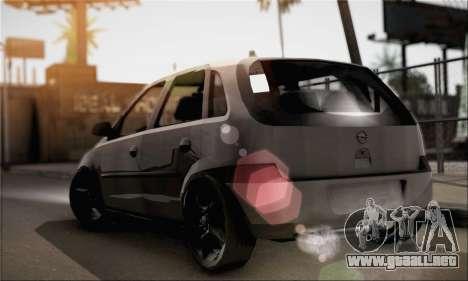 Opel Corsa 5-Doors para GTA San Andreas left