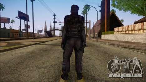 SAS from Counter Strike Condition Zero para GTA San Andreas segunda pantalla
