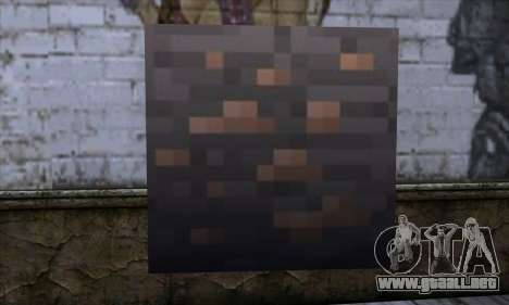 Bloque (Minecraft) v7 para GTA San Andreas
