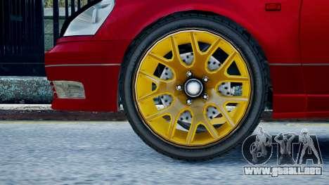 Intruder Sport para GTA 4 Vista posterior izquierda