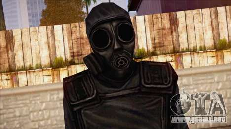 SAS from Counter Strike Condition Zero para GTA San Andreas tercera pantalla