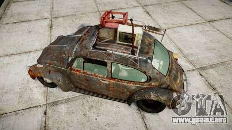 Volkswagen Beetle rust para GTA 4 visión correcta