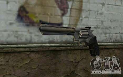 Revolver from Max Payne 3 para GTA San Andreas