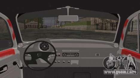Volkswagen Beetle Bosnia Stance Nation para GTA San Andreas vista posterior izquierda