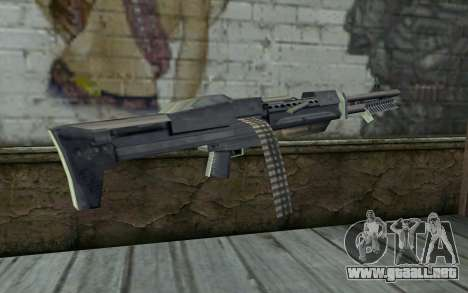 M60 from GTA Vice City para GTA San Andreas segunda pantalla