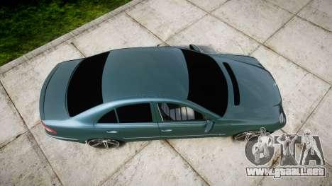 Mercedes-Benz W211 E55 AMG Vossen VVS CV5 para GTA 4 visión correcta
