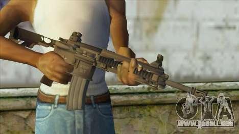 M4 from Battlefield 4 para GTA San Andreas tercera pantalla