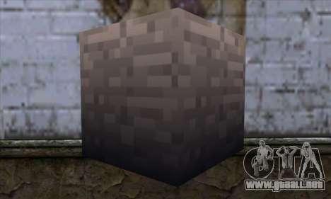 Bloque (Minecraft) v13 para GTA San Andreas segunda pantalla