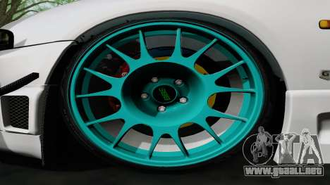 Nissan Skyline GT-R33 para visión interna GTA San Andreas