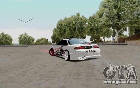 Nissan Silvia S14 VCDT para la visión correcta GTA San Andreas