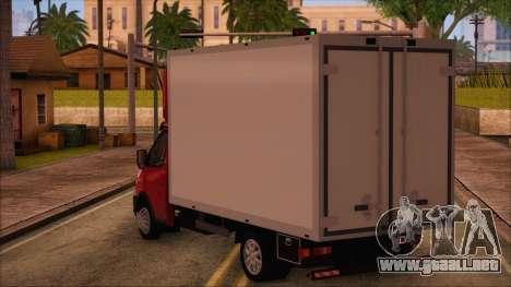 GAZel 3302 De Negocios para GTA San Andreas left