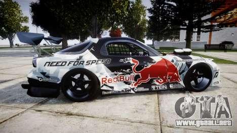 Mazda RX-7 Mad Mike para GTA 4 left