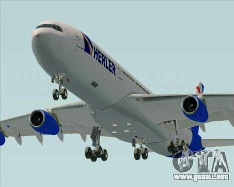 Airbus A340-300 Air Herler para el motor de GTA San Andreas