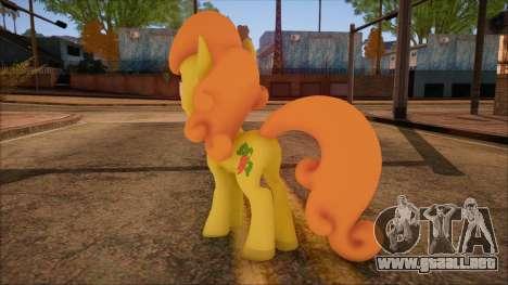 Carrot Top from My Little Pony para GTA San Andreas segunda pantalla