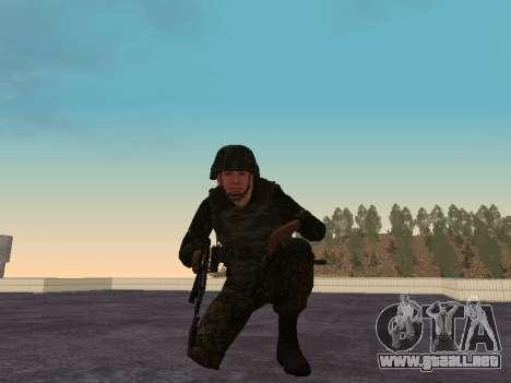Los soldados de la MIA de la Federación de rusia para GTA San Andreas sucesivamente de pantalla