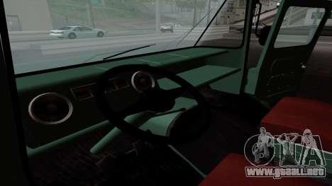 Zuk A06 para visión interna GTA San Andreas