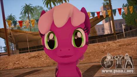 Cheerilee from My Little Pony para GTA San Andreas tercera pantalla