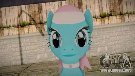 Lotus from My Little Pony para GTA San Andreas tercera pantalla