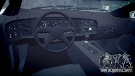 Jaguar XJ220 1992 [EPM] Gumball 3000 para GTA 4 vista interior