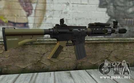 M4 MGS Aimpoint v1 para GTA San Andreas segunda pantalla