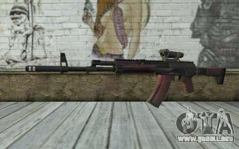 AEK from Battlefield 4 para GTA San Andreas