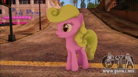 Daisy from My Little Pony para GTA San Andreas