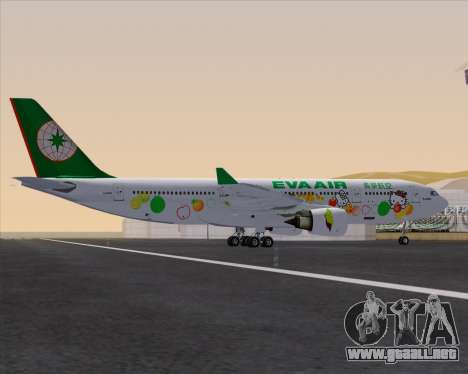 Airbus A330-200 EVA Air (Hello Kitty) para GTA San Andreas