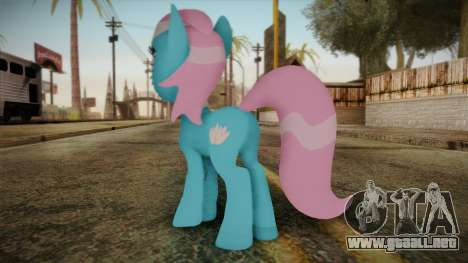 Lotus from My Little Pony para GTA San Andreas segunda pantalla