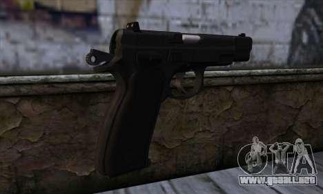 CZ75 v1 para GTA San Andreas segunda pantalla