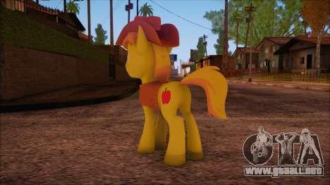Braeburn from My Little Pony para GTA San Andreas segunda pantalla