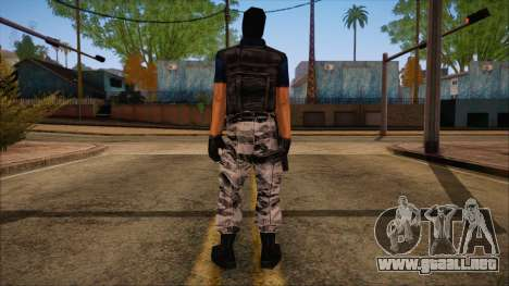 Terror from Counter Strike Condition Zero para GTA San Andreas segunda pantalla