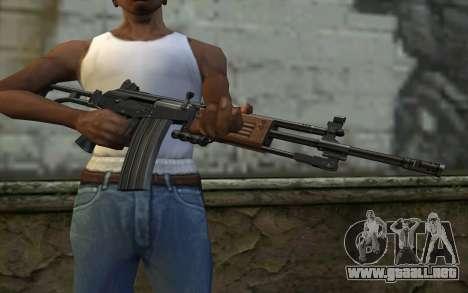 Galil v1 para GTA San Andreas tercera pantalla