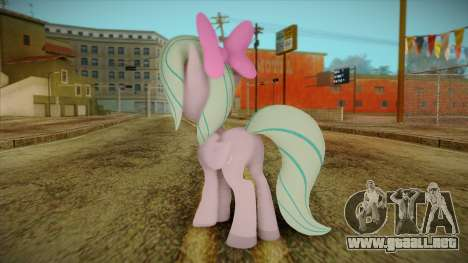 Flitter from My Little Pony para GTA San Andreas segunda pantalla