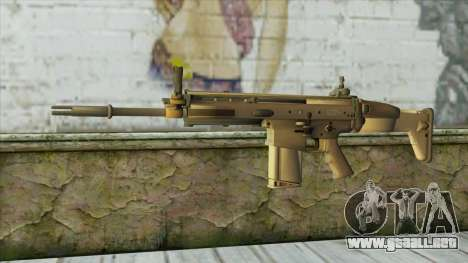 AK12 from Battlefield 4 para GTA San Andreas