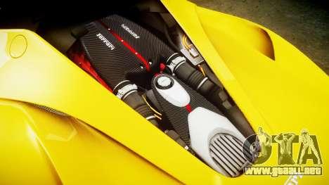 Ferrari LaFerrari [EPM] v1.2 para GTA 4 vista lateral