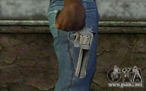 Revolver from Max Payne 3 para GTA San Andreas tercera pantalla