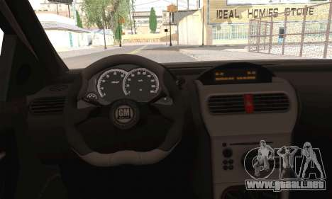 Opel Corsa 5-Doors para GTA San Andreas vista posterior izquierda
