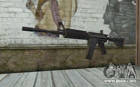 M4 de Francotirador Guerrero Fantasma para GTA San Andreas
