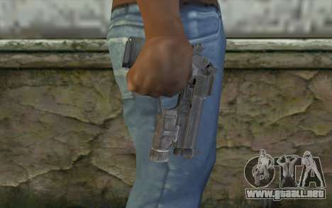 M9A1 from COD: Ghosts para GTA San Andreas tercera pantalla