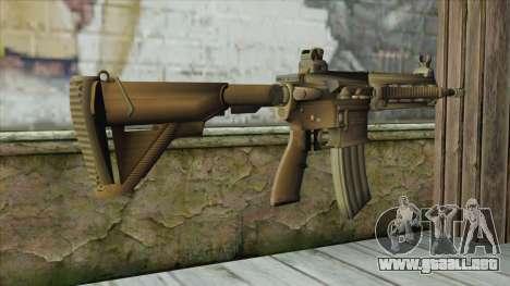 M4 from Battlefield 4 para GTA San Andreas segunda pantalla