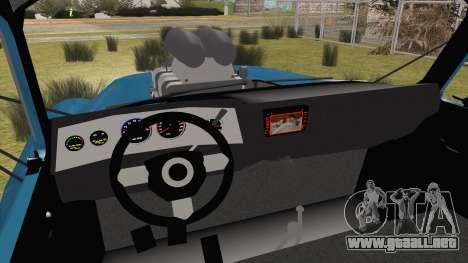 GAZ-52 para GTA San Andreas vista posterior izquierda