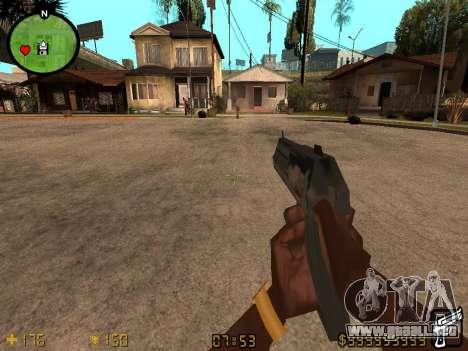 Counter-Strike HUD para GTA San Andreas segunda pantalla