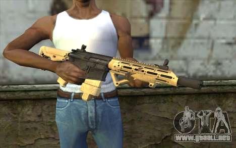 AR-25c para GTA San Andreas tercera pantalla