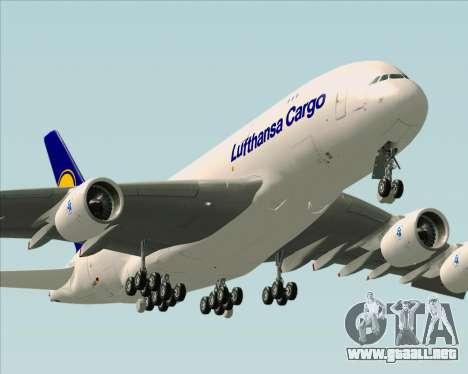 Airbus A380-800F Lufthansa Cargo para el motor de GTA San Andreas