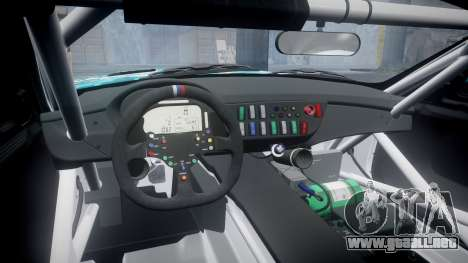 BMW Z4 GT3 2014 Goodsmile Racing para GTA 4 vista interior