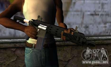 Carbine Rifle from GTA 5 v2 para GTA San Andreas tercera pantalla